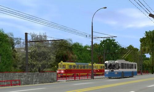 Волгоградский трамвай в Auran Trainz