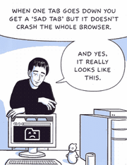 вкладки браузера Google